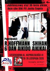 Jubileuszowy staż 30-lecia aikido Dojo Cho Jacka Engela. Prowadzący Shihan Roman Hoffmann 6 Dan @ niepodległości 41 | Częstochowa | Śląskie | Polska
