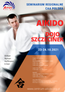 Seminarium regionalne - Szczecinek 23-24.10 - shihan Roman Hoffmann 6 dan @ Piotra Skargi 5 | Szczecinek | Zachodniopomorskie | Polska